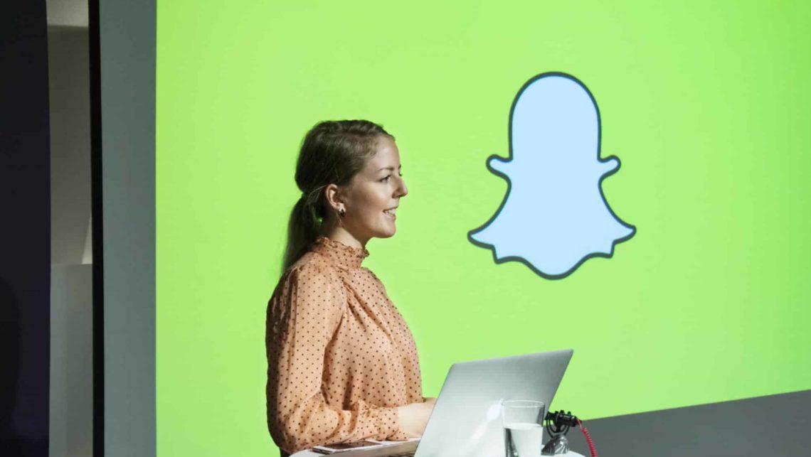Marie Brudevold drifter Snapchat-markedsføring for Gjensidige
