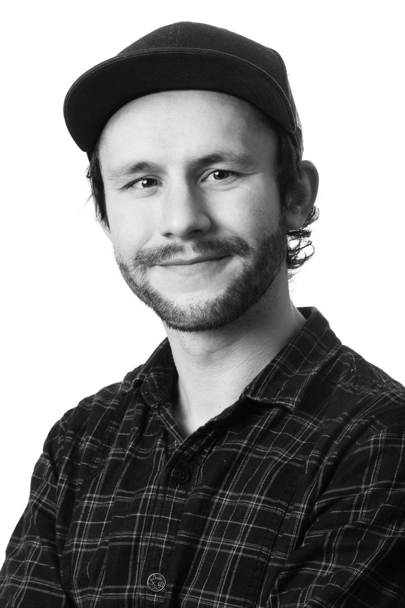 Digital designer Kristian Dalen