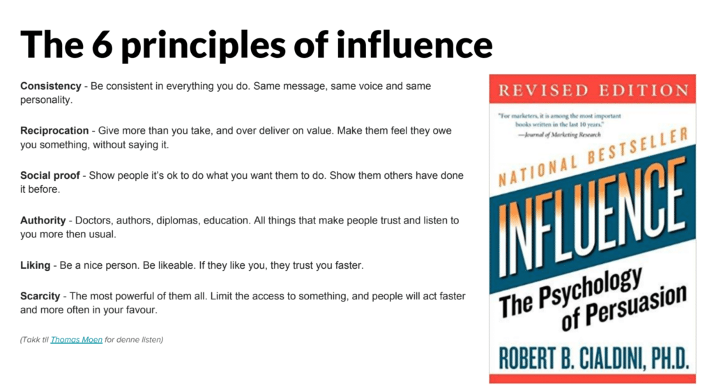 "Lesetips: ""Influence: The Psychology of Persuasion"""